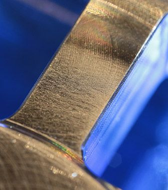First stage in strain gage services.